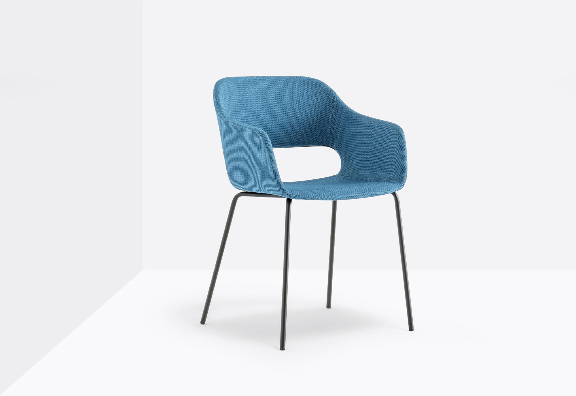Pedrali Krzesło Babila 2736 Niebieski
