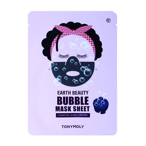 Earth Beauty Bubble Sheet - Maseczka