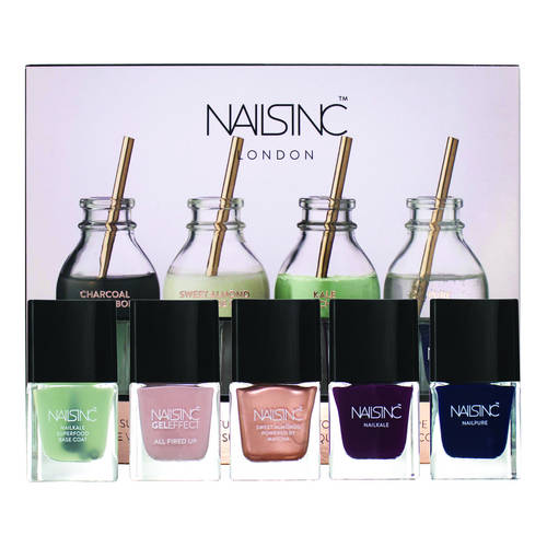 Nails inc Nail Fuel Superfood Collection