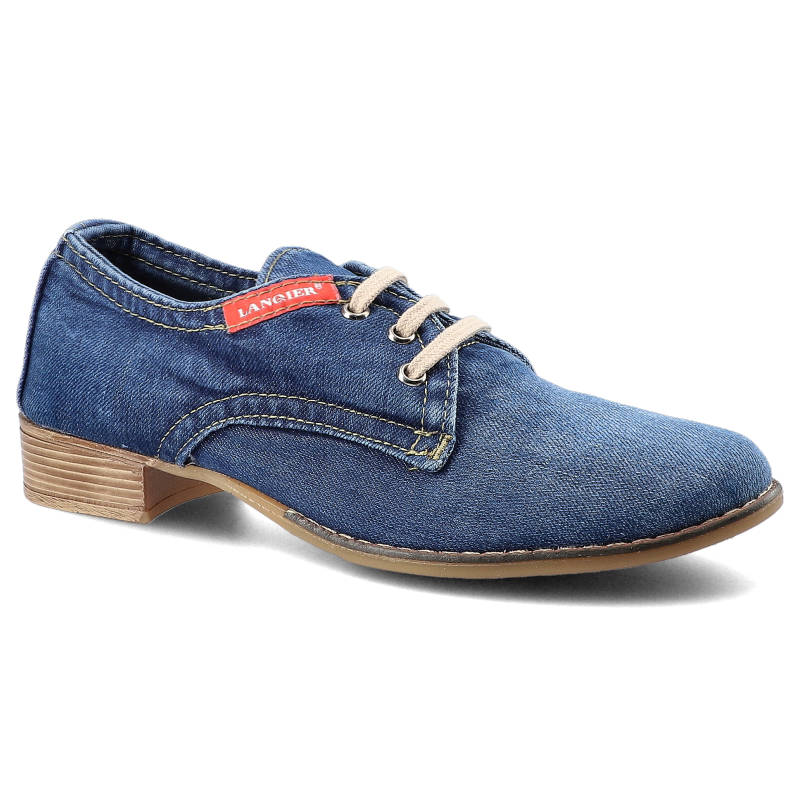 Półbuty LANQIER 42C223 Jeans rozmiar 37