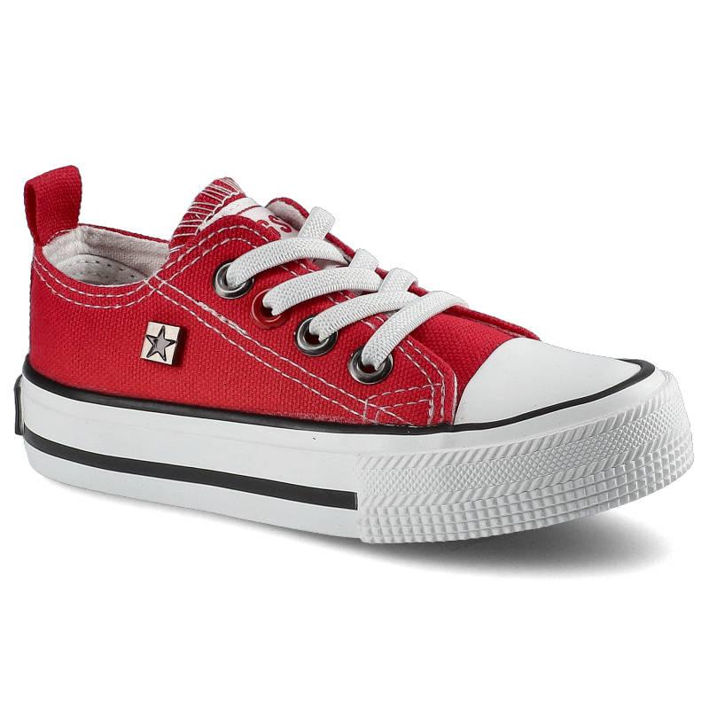 Trampki BIG STAR HH374092 Czerwony rozmiar 27
