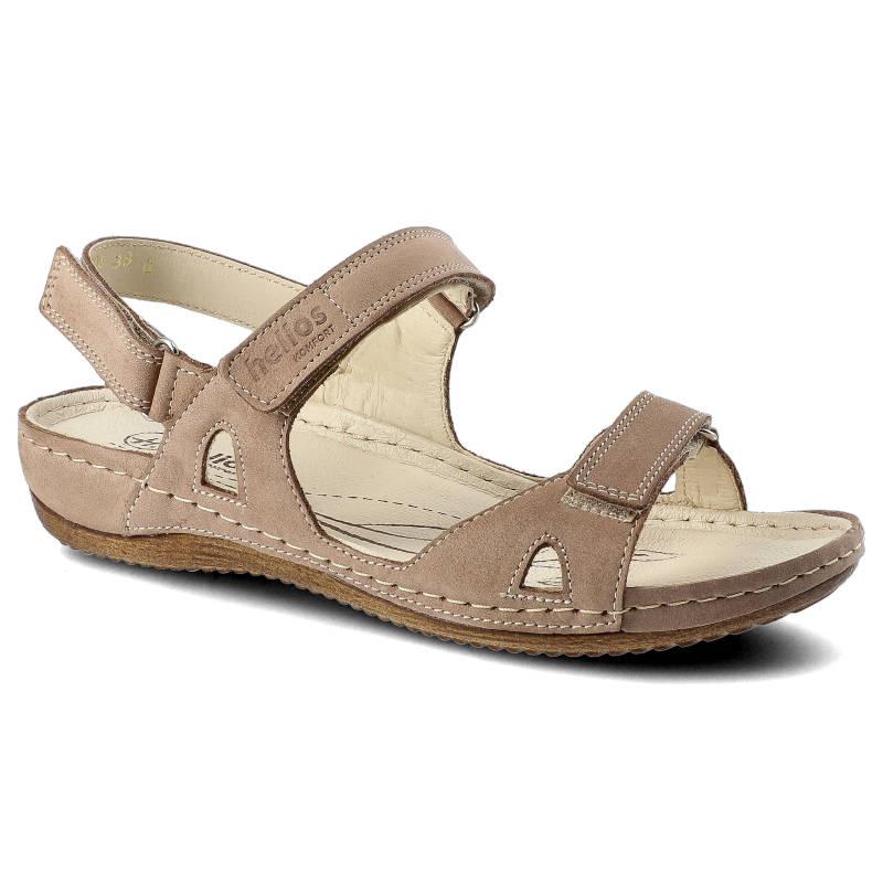 Sandały HELIOS 205 Beż rozmiar 36