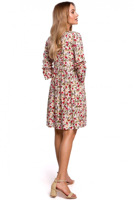 Sukienka Rozkloszowana krótka sukienka oversize na lato 2