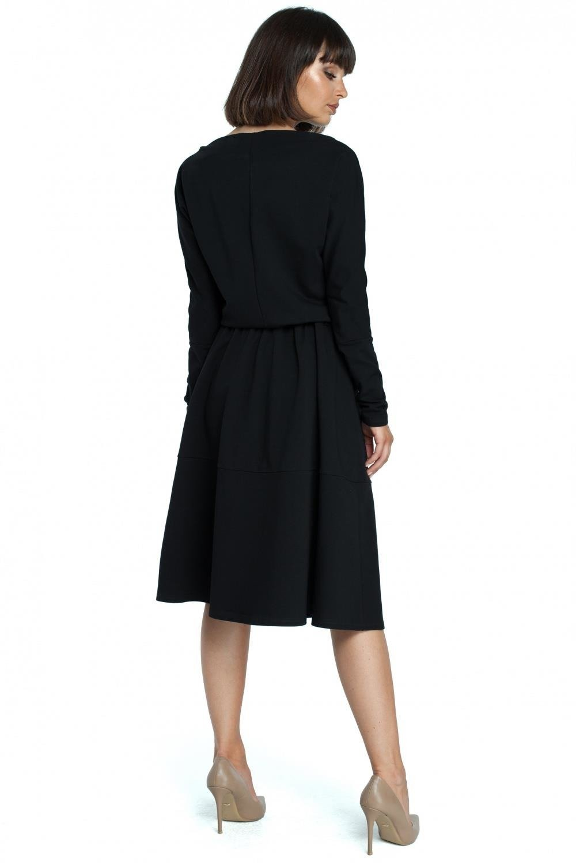 Sukienka Rozkloszowana sukienka z kieszeniami