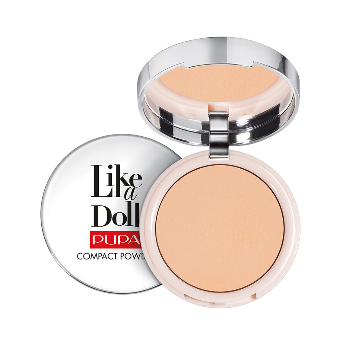 Puder Pupa Like A Doll Nude Skin Compact Powder SPF15 Puder matujący  10 g - 003 Natural Beige
