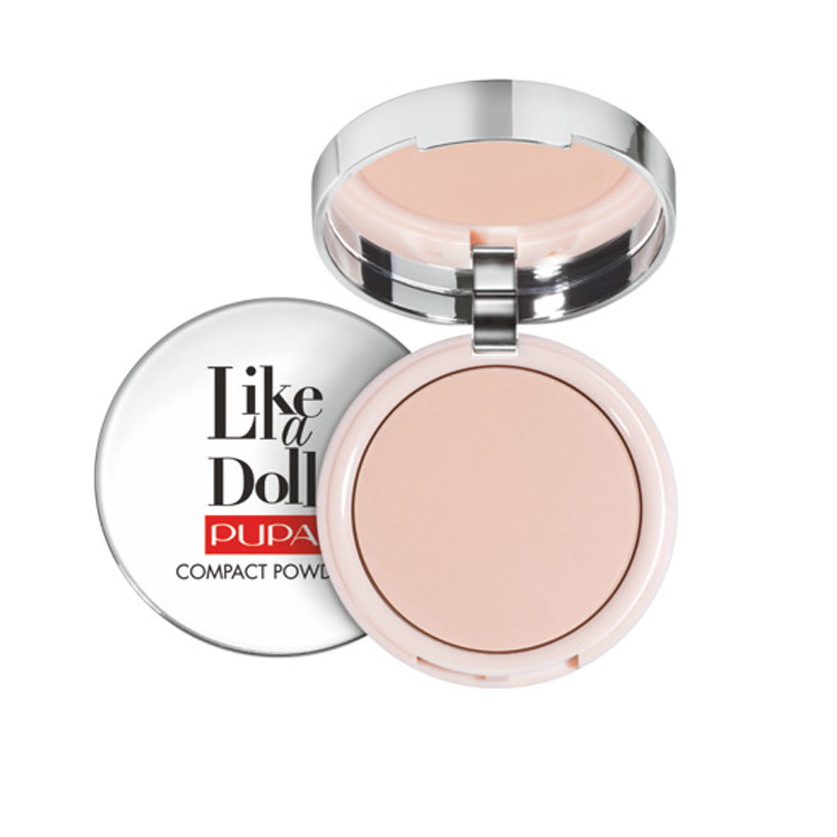 Puder Pupa Like A Doll Nude Skin Compact Powder SPF15 Puder matujący  10 g - 002 Sublime Nude