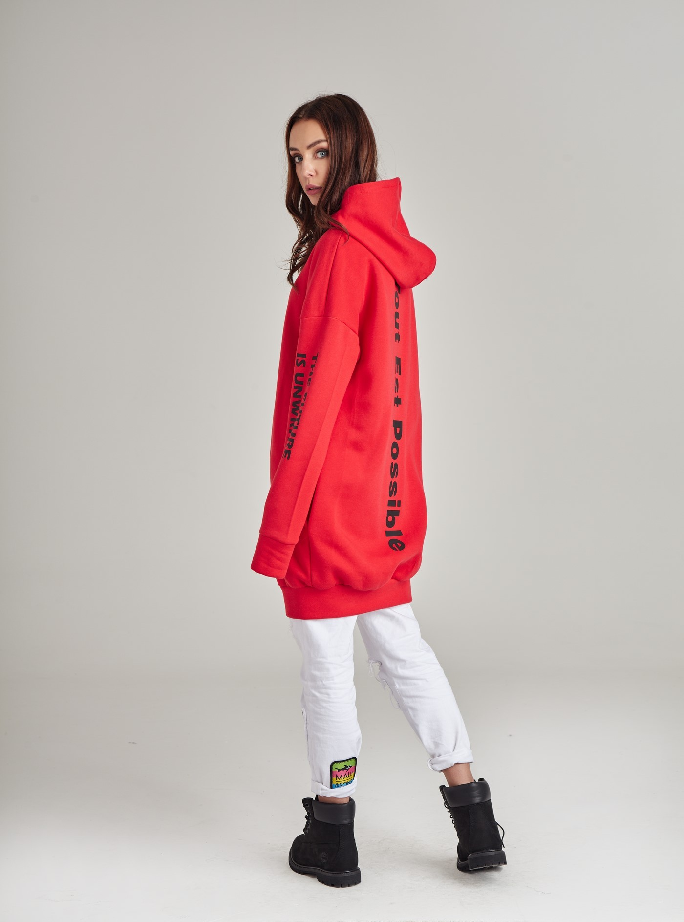 Bluza Blizzard Red Moon Hoodie - 118343