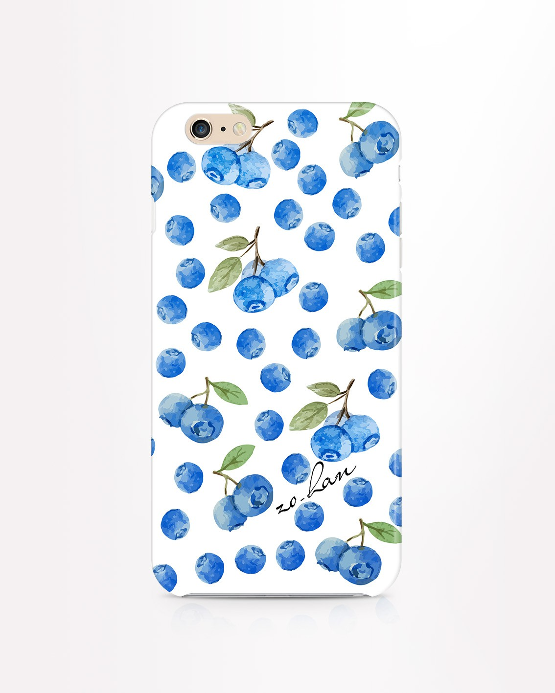 Etui iPhone Blueberrys - 32824