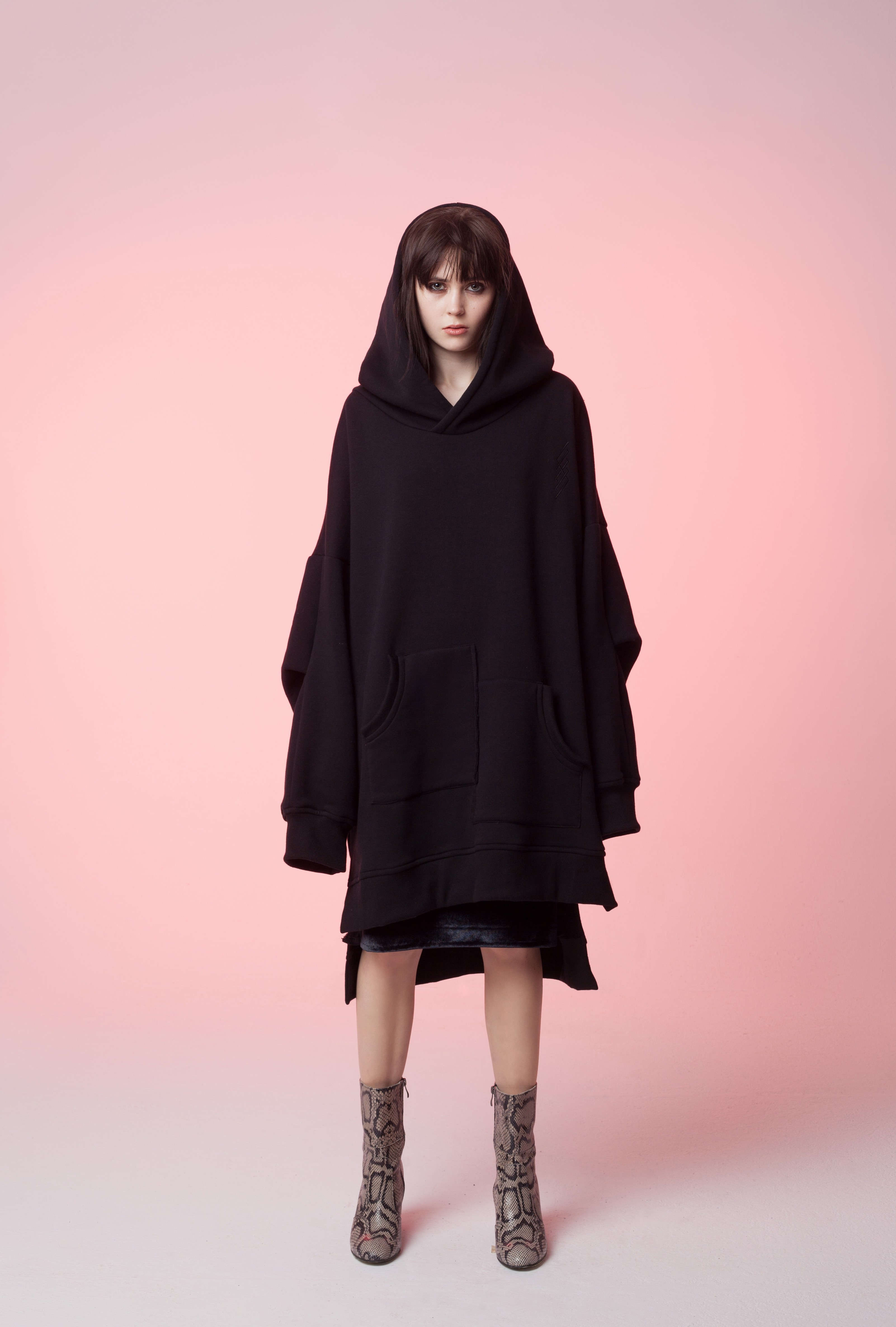 Bluza oversize All black - 94908