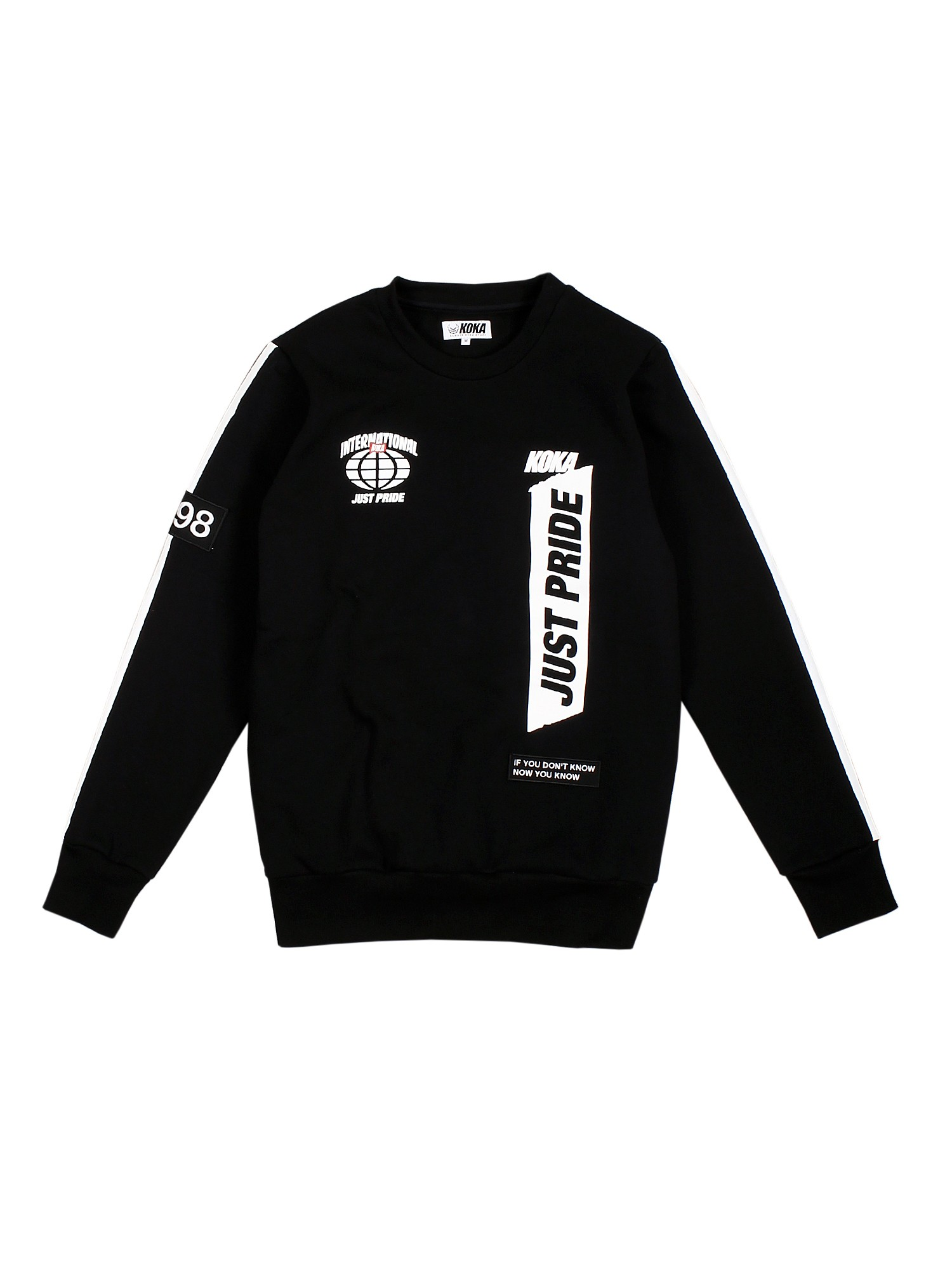 Bluza Crewneck Supporter Black - 71251