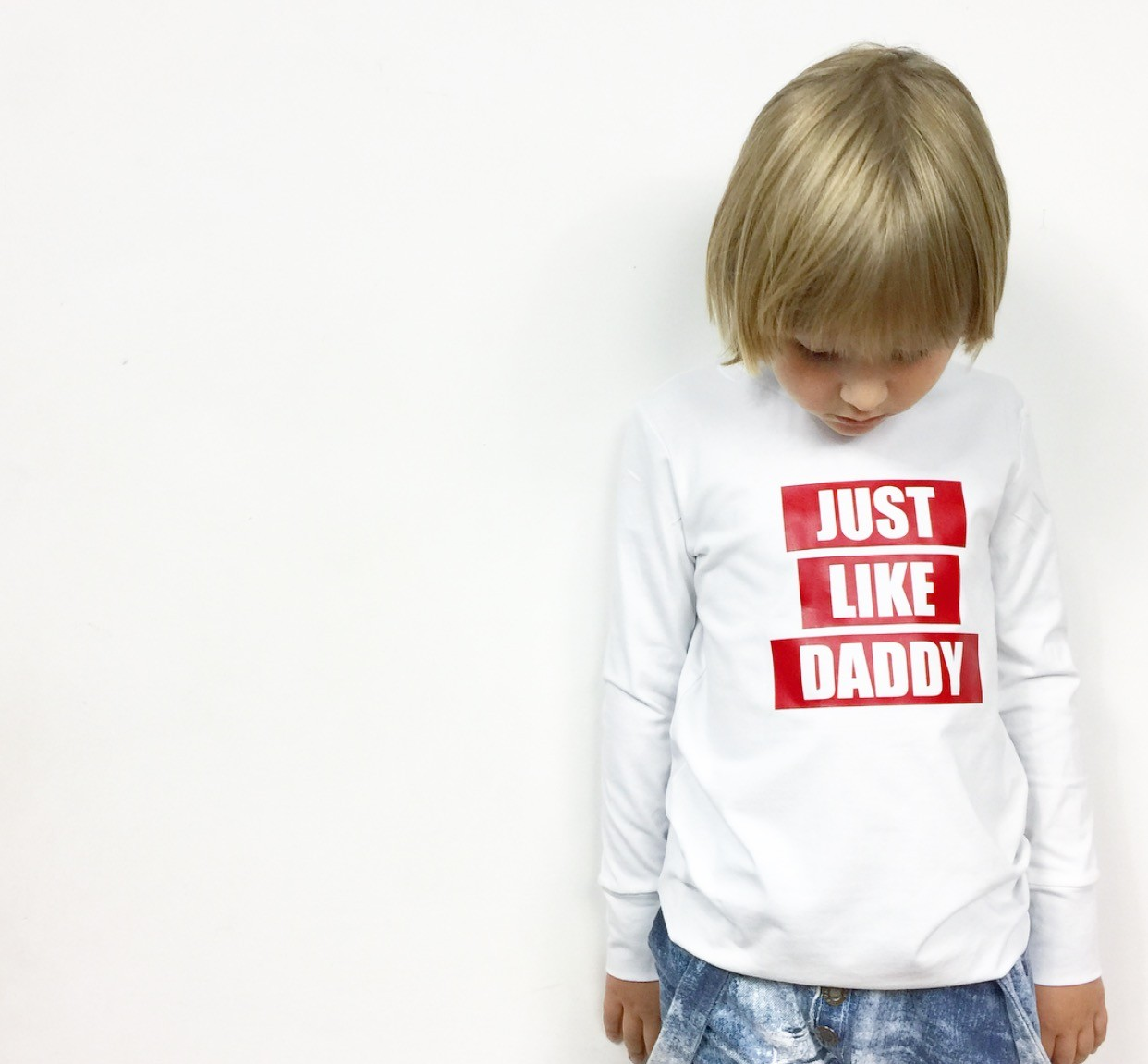 Bluza just like daddy - 116962