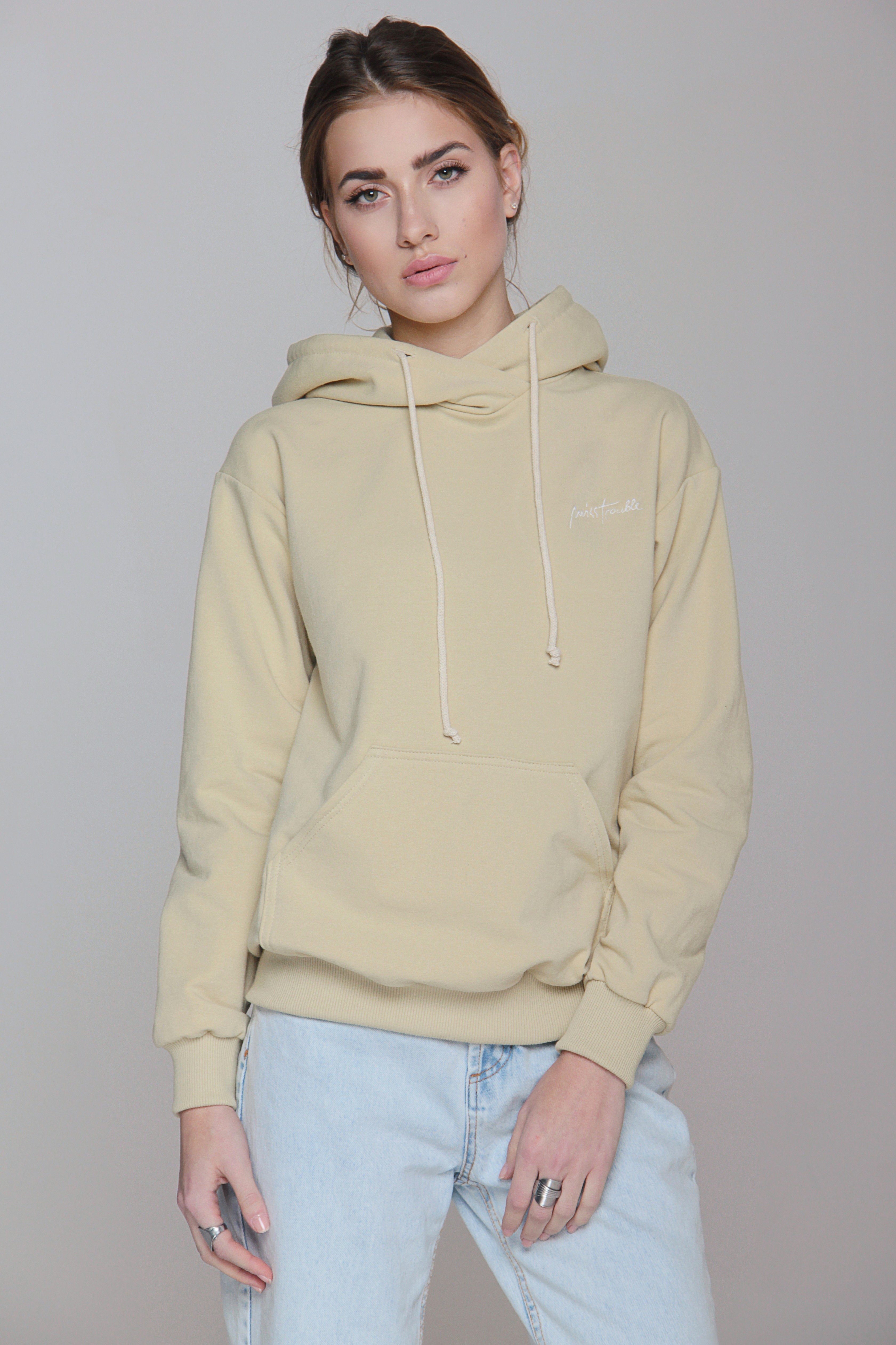 Bluza Miss Trouble Hoodie - 85955