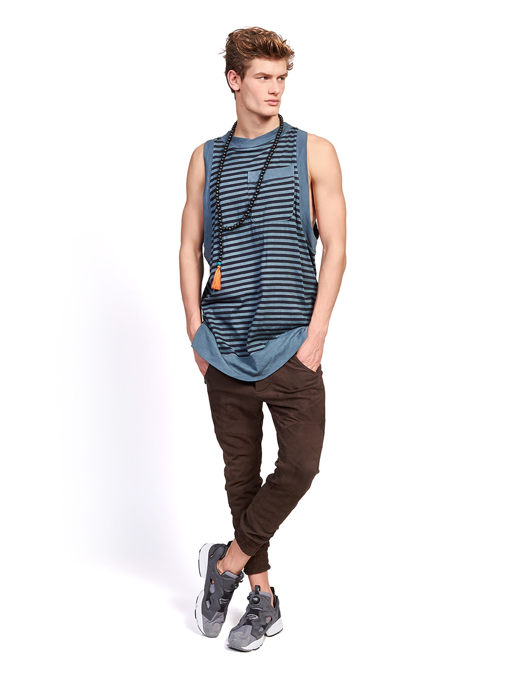 Tank top Krivan VEST Stripes - 95290