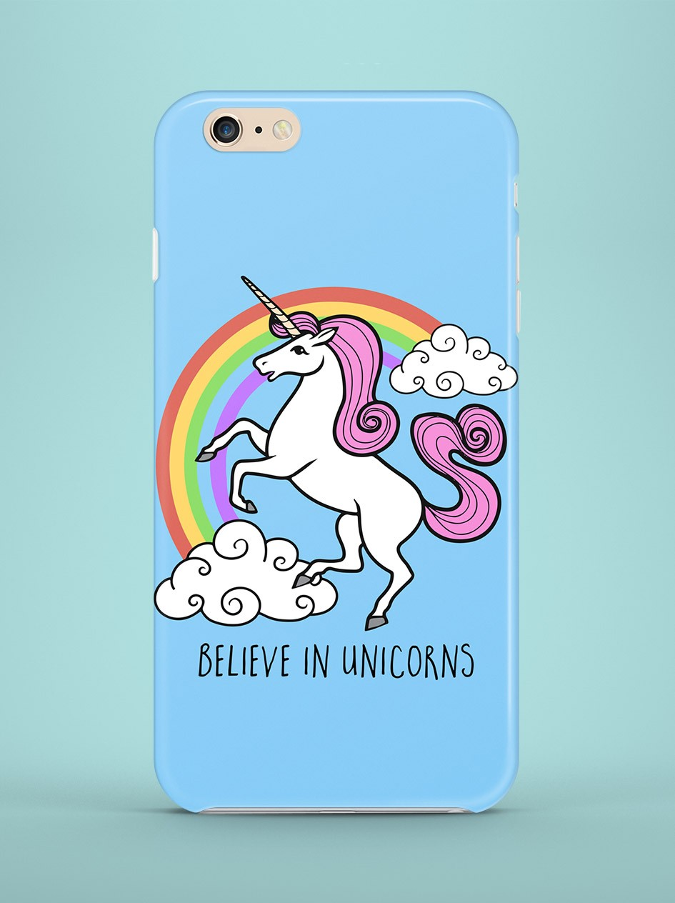 Etui iPhone Believe in unicorns - 56893