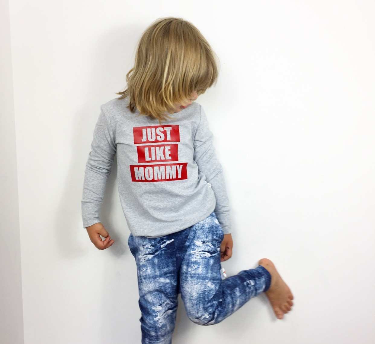 Bluza just like mommy grey - 117446