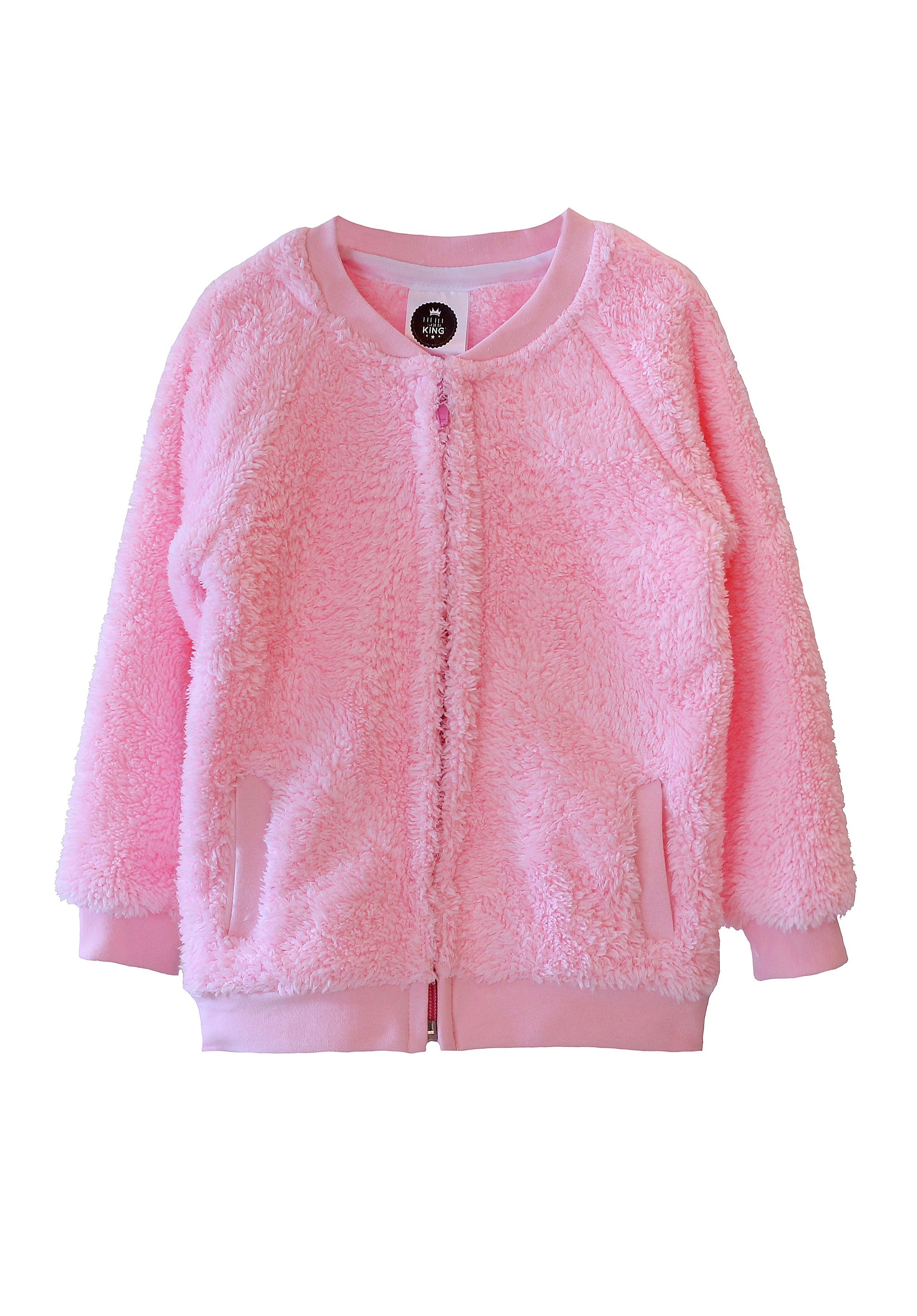 Bluza BEAR ZIP PINK - 80639