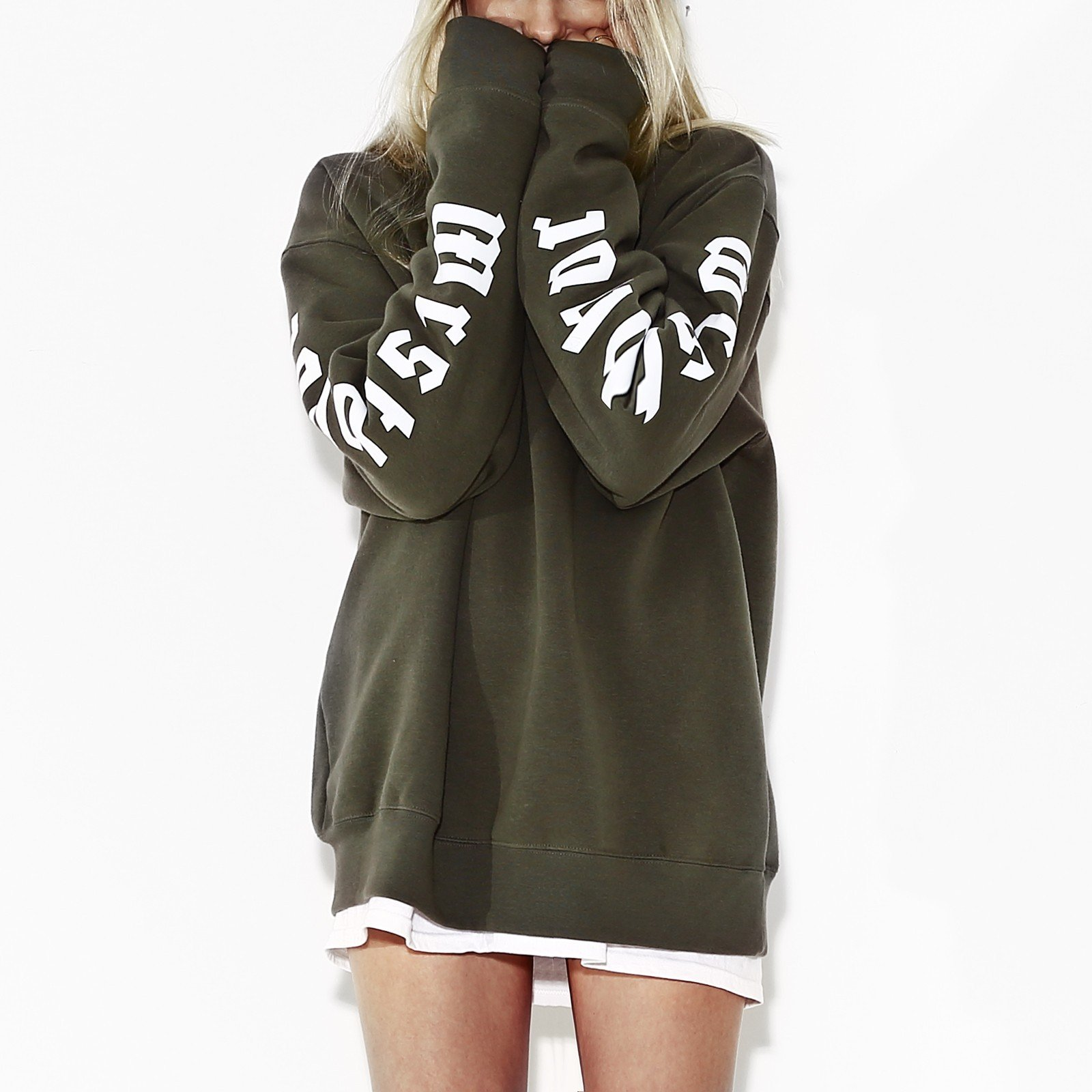 Bluza Greatest Crewneck khaki - 91189