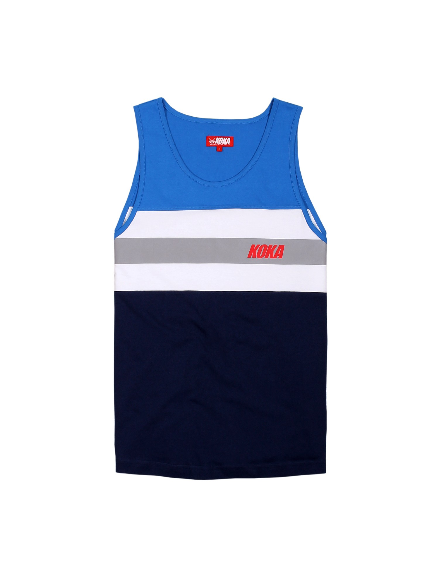 Tank Top Stripes Blue - 72770
