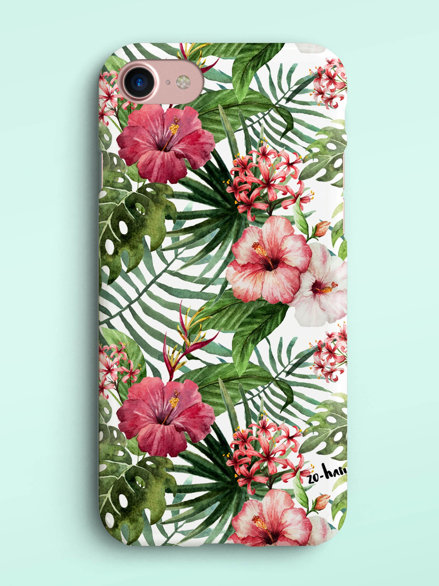 Etui Exotic Flowers - 112635