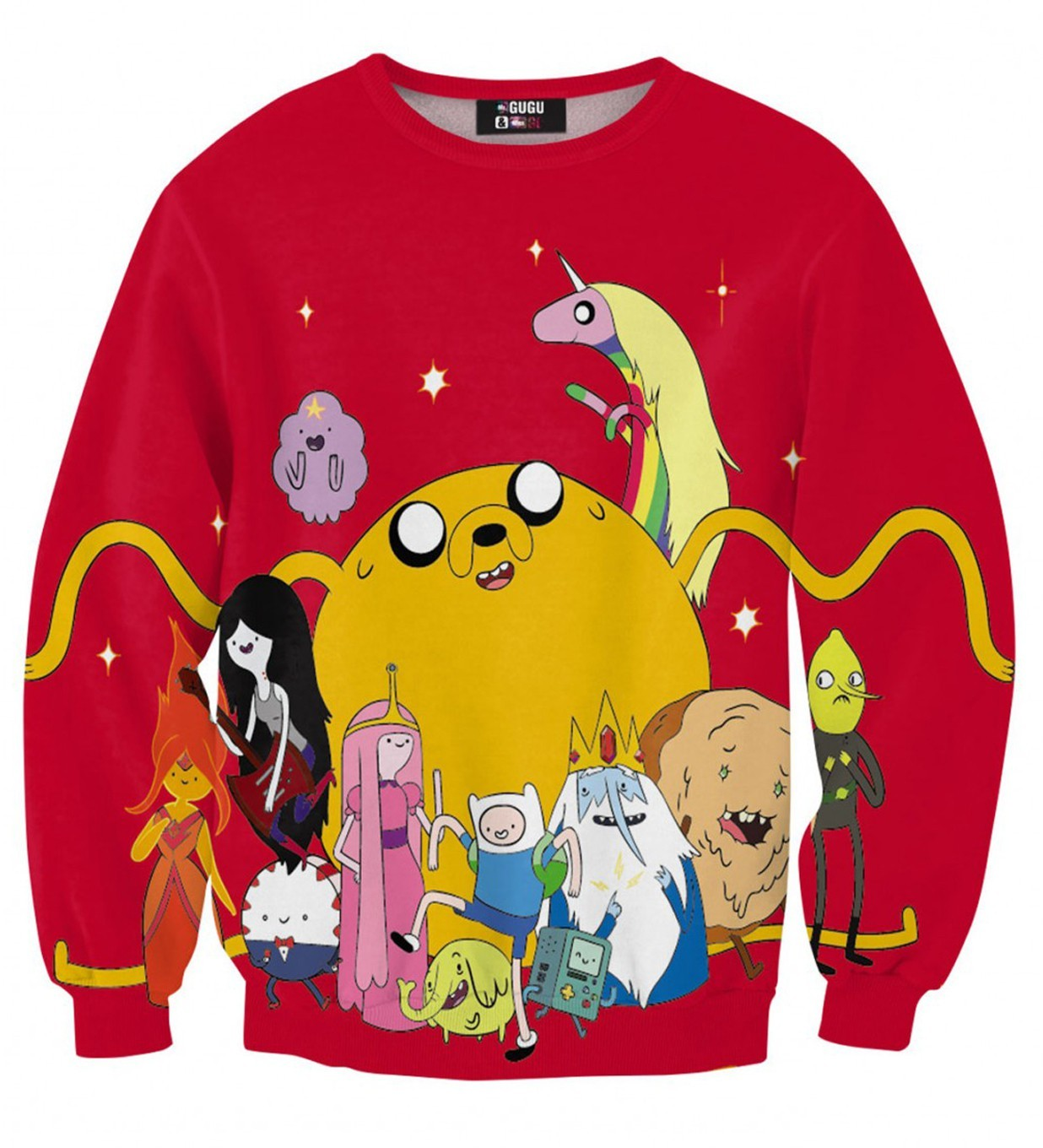 Bluza Adventure time red - 63959