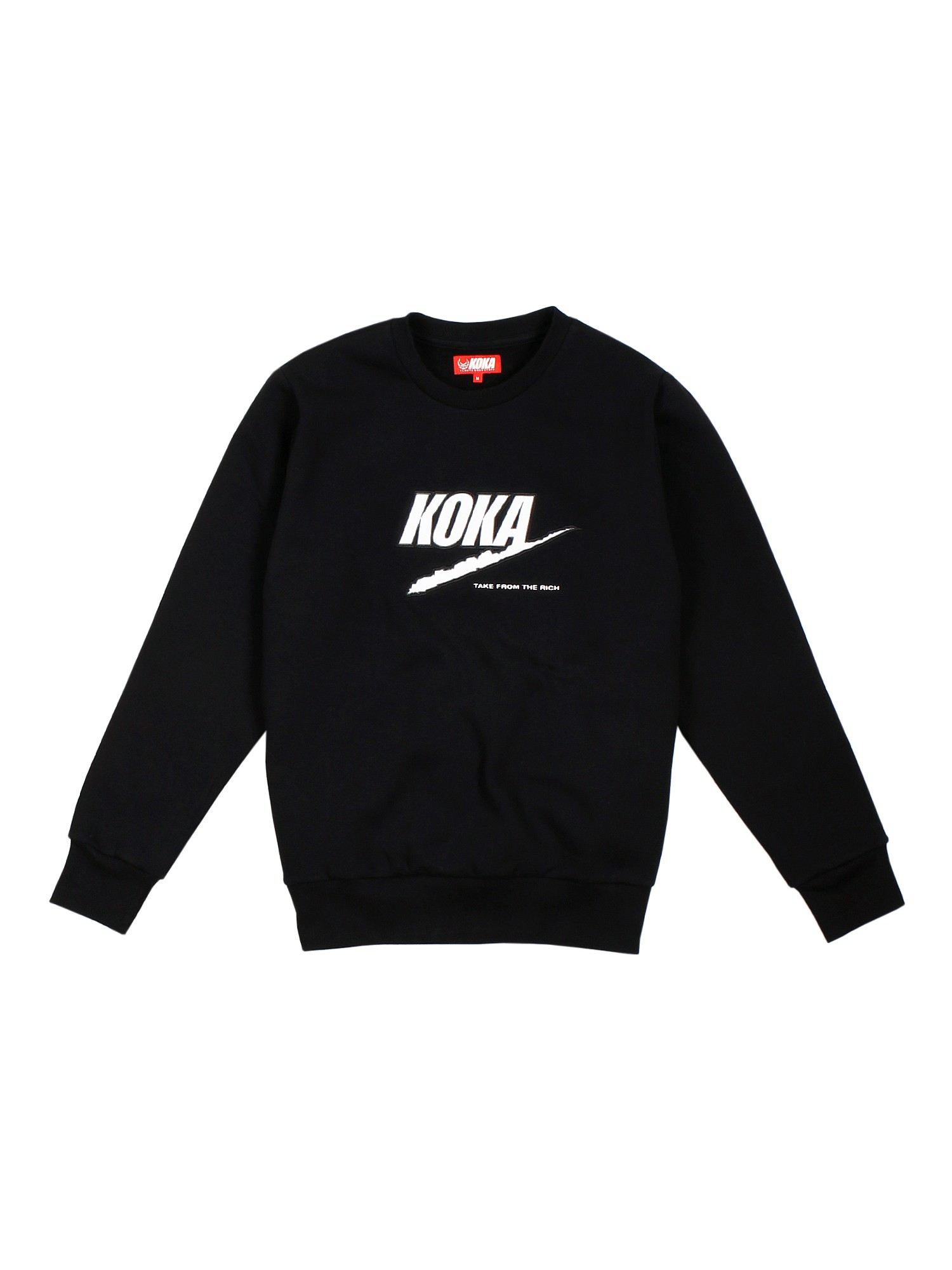 Bluza Crewneck Fake Tftr Black - 71238