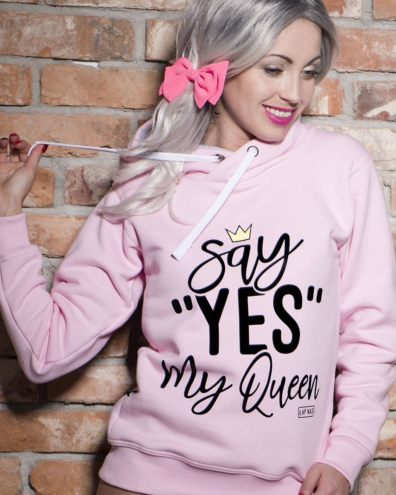 Bluza Say Yes my Queen - 61491