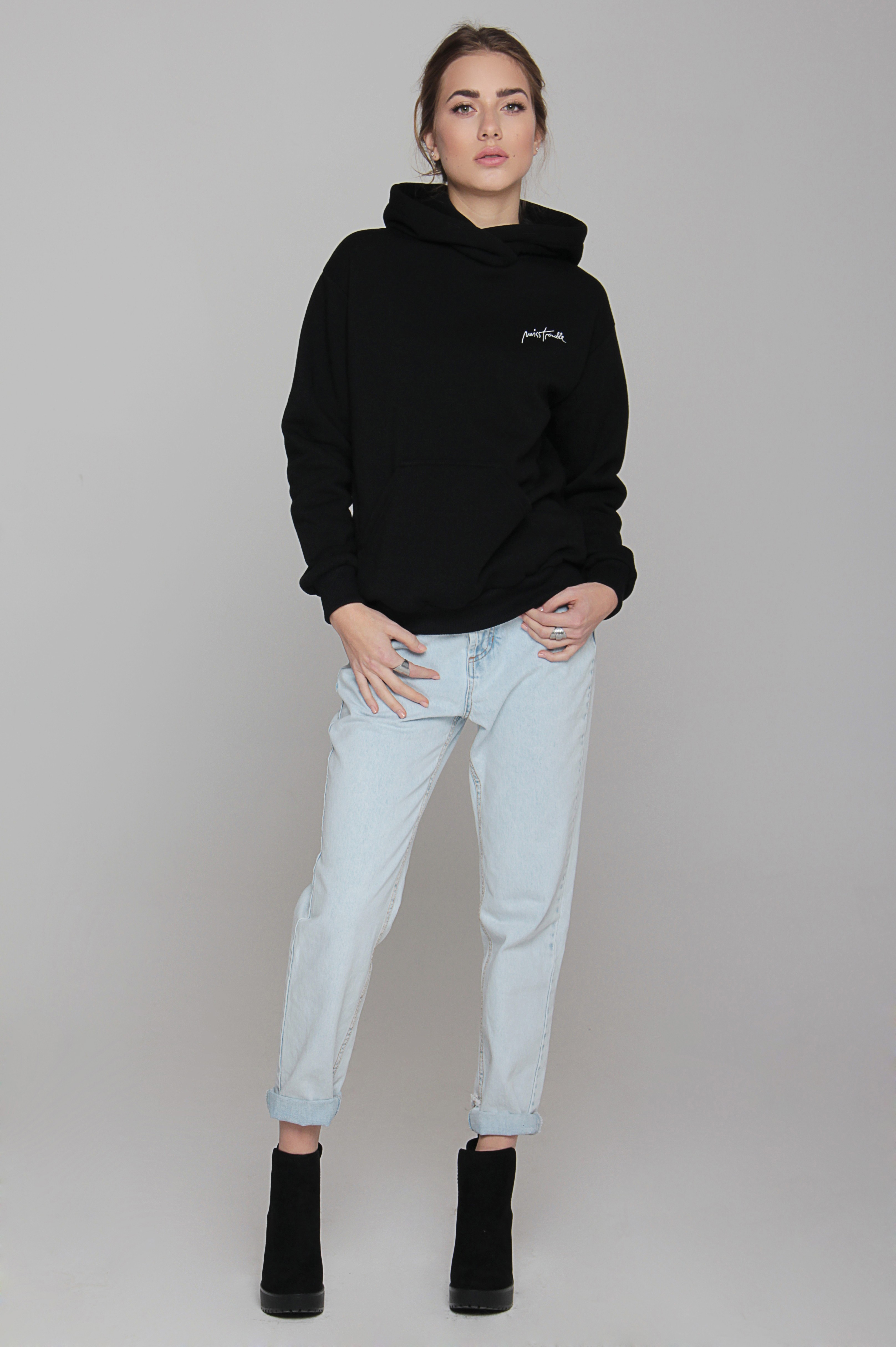 Bluza Miss Trouble Hoodie - 85957