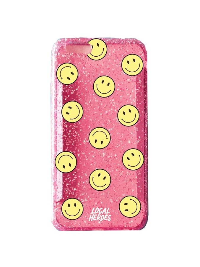 Etui iPhone 6/6s Smiley Pink - 99937