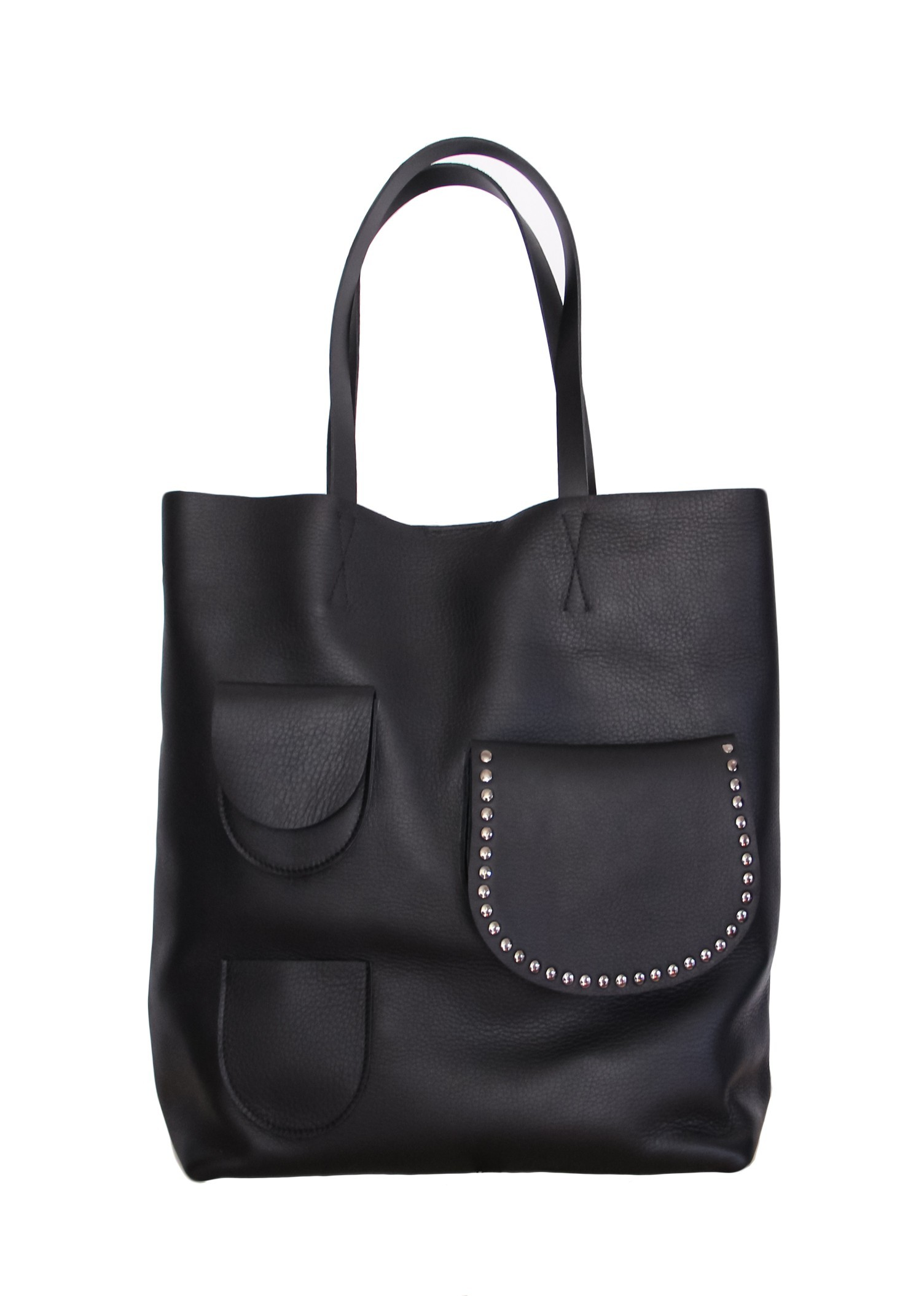 Torba skórzana Premium Sugar Tote Man in Black - 96220