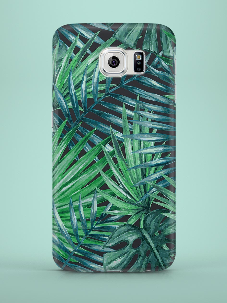 Case for Samsung Galaxy Series Palm leaves - 59611