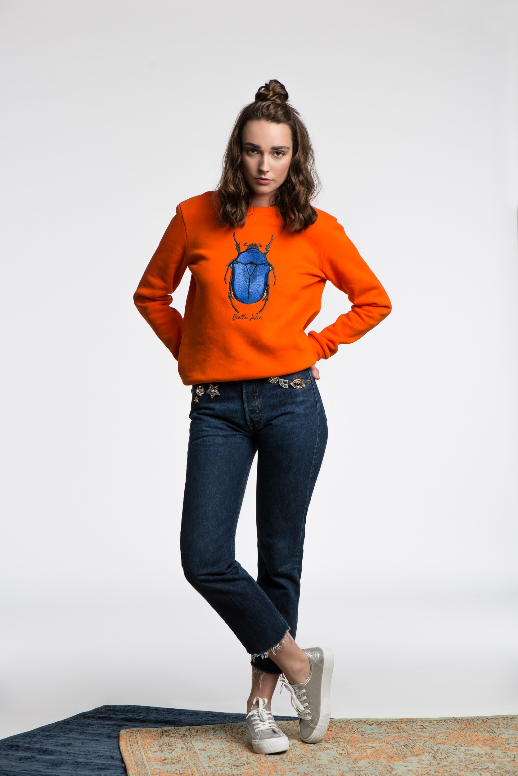 Bluza The Beetle Orange - 112992