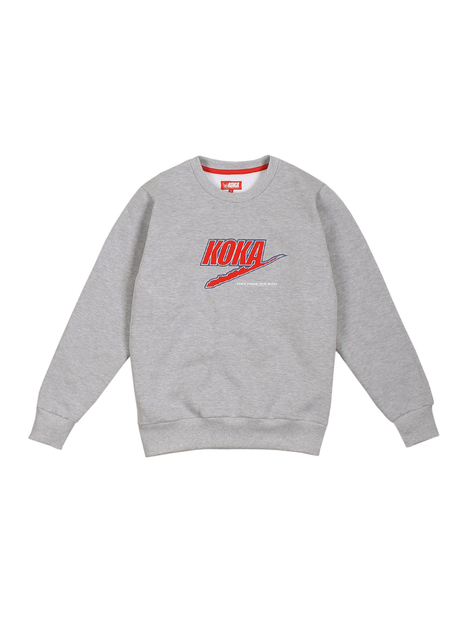 Bluza Crewneck Fake Tftr Heather Grey - 71235