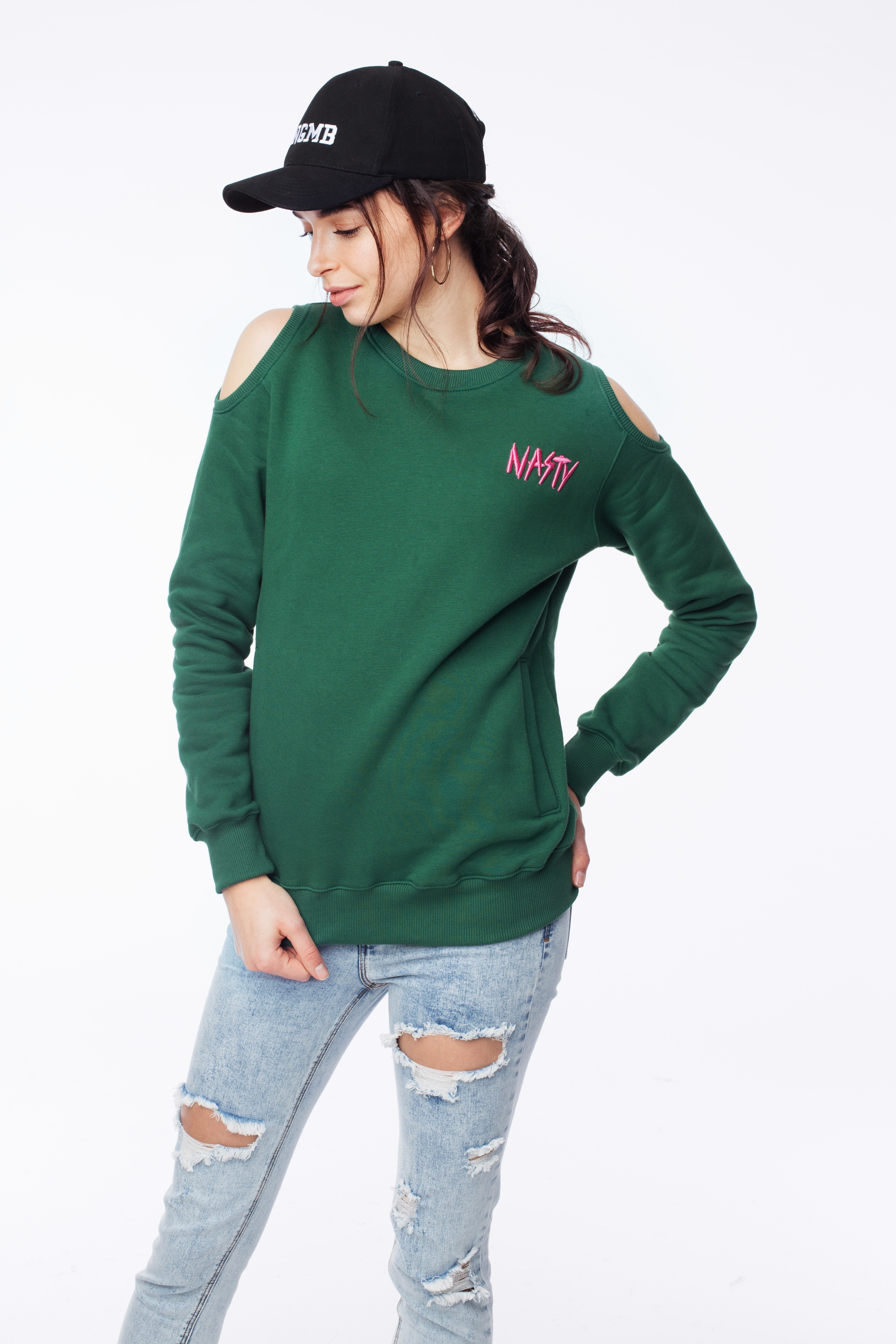 Bluza Nasty green - 90808