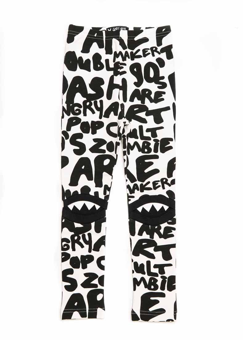 Legginsy HUNGRY MILKY WRITING baby - 115176