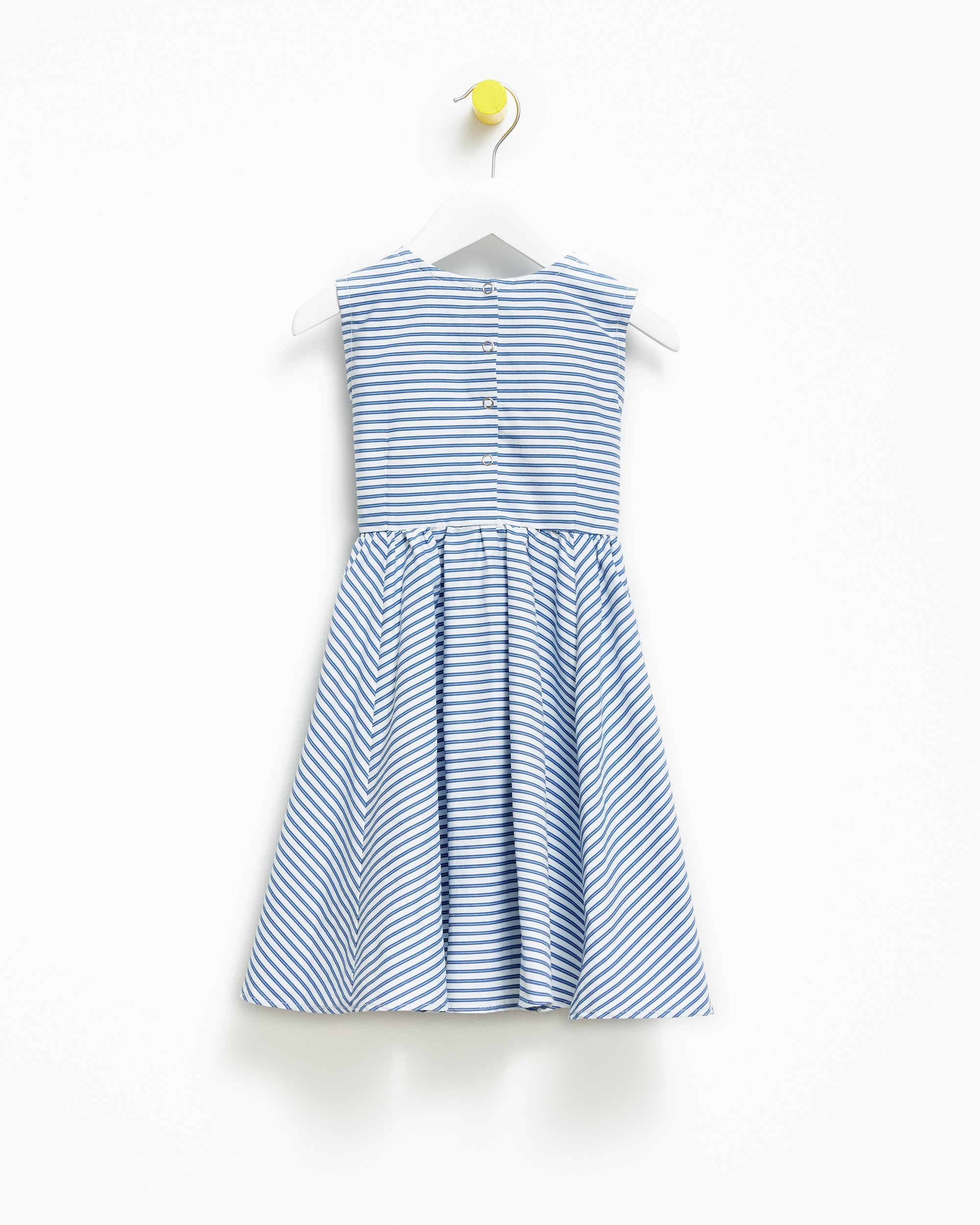 Blue Marine Stripes Dress - 111435