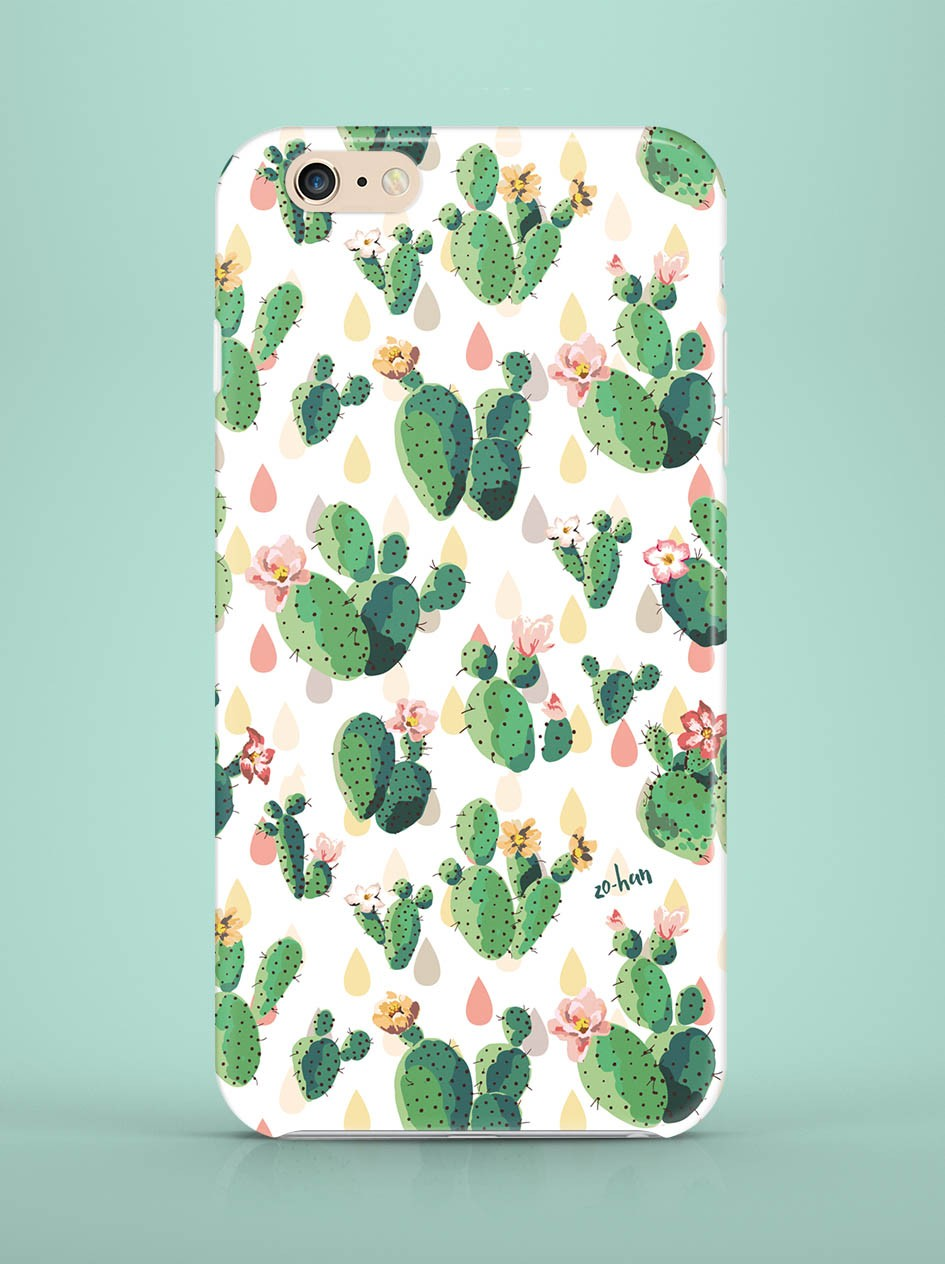 Etui iPhone Cacti - 56894