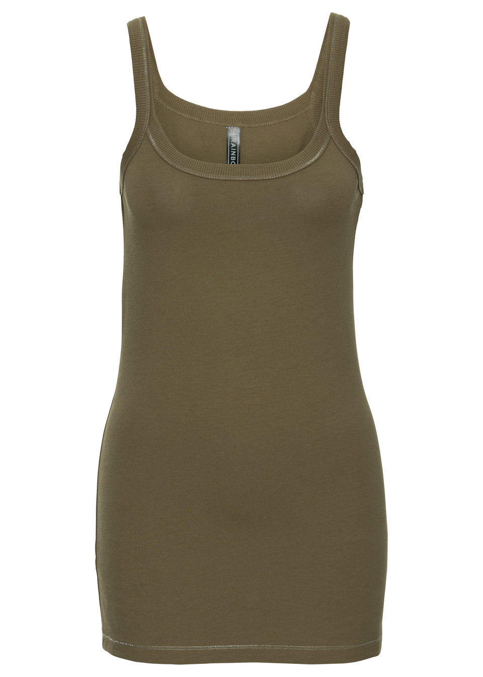 Top bonprix zielony khaki
