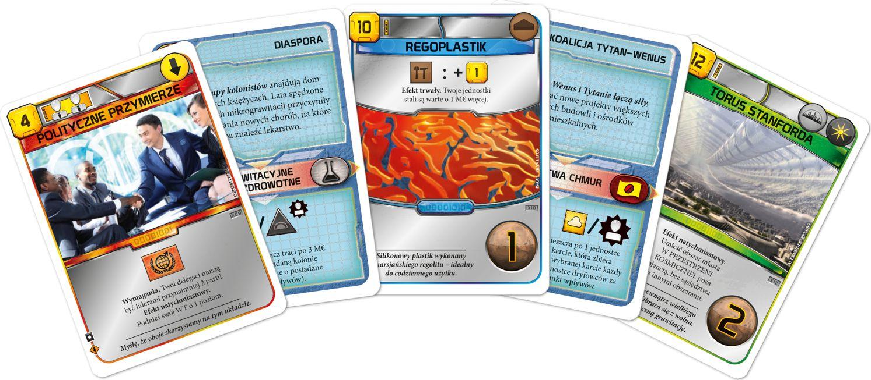Rebel Gra planszowa Terraformacja Marsa Zestaw dodatkowy #4