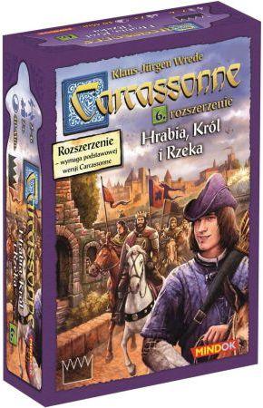Bard Gra planszowa Carcassonne Hrabia, król i rzeka Edycja 2