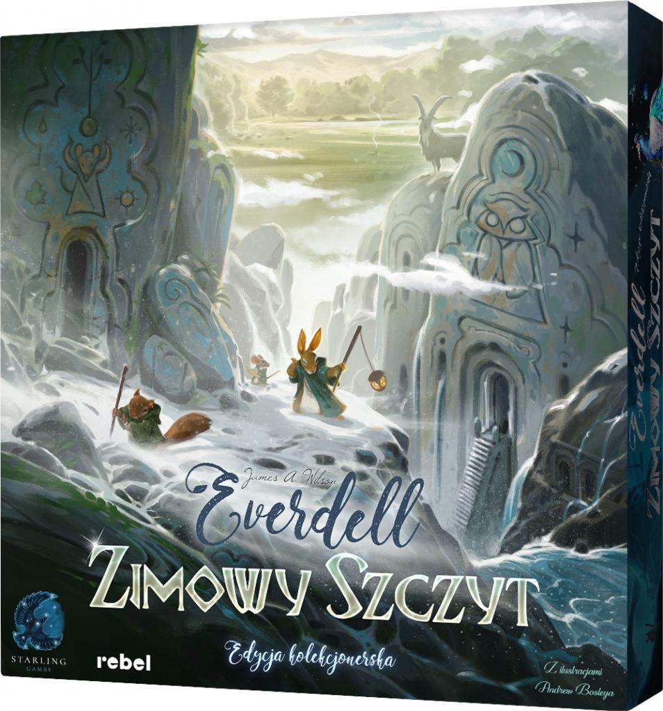 Rebel Gra Dodatek do Everdell' Zimowy Szczyt Edycja Kolekcjonerska