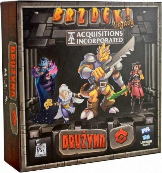 Lucrum Brzdęk! Legacy: Acquisitions Incorporated - Drużyna C