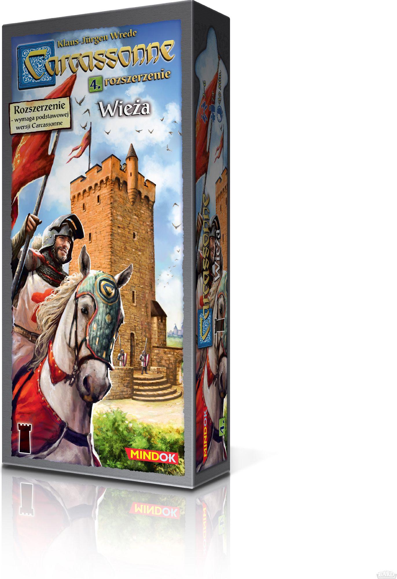 Bard Gra planszowa Carcassonne Wieża (GXP-643611)
