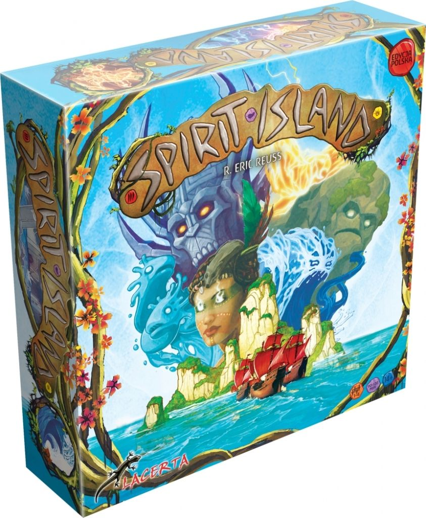 Lacerta Gra Spirit Island (Edycja Polska)