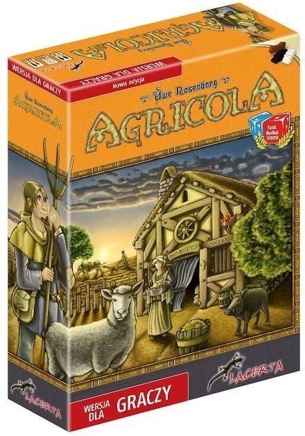 Lacerta Gra planszowa Agricola Wersja dla graczy (205911)