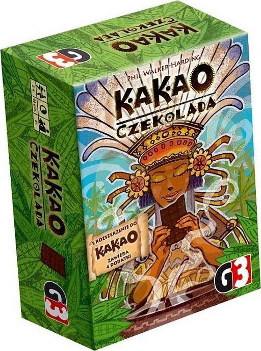 G3 Gra planszowa Kakao: Czekolada