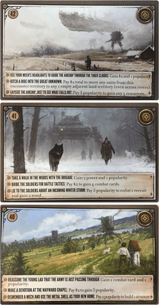 Phalanx GRA PLANSZOWA SCYTHE: karty spotkań (37-42) - dodatek PHALANX GAMES