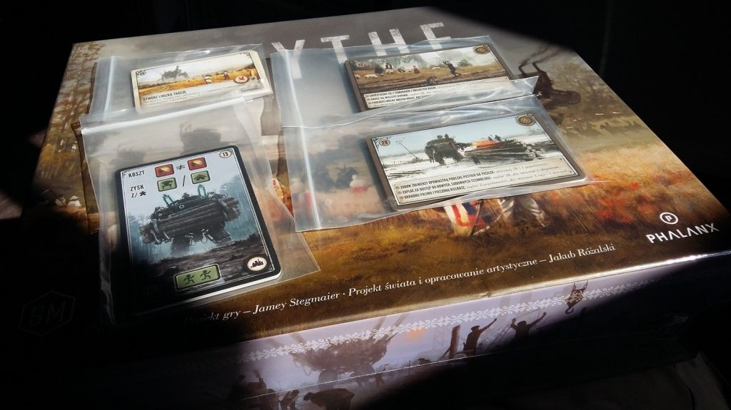 Phalanx Games Polska Scythe: Karty Promocyjne - Kickstarter
