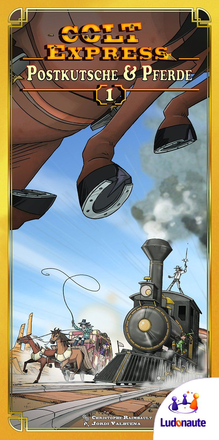 Asmodee Asmodee Colt Express - stagecoaches and horse (po angielsku) 217 672