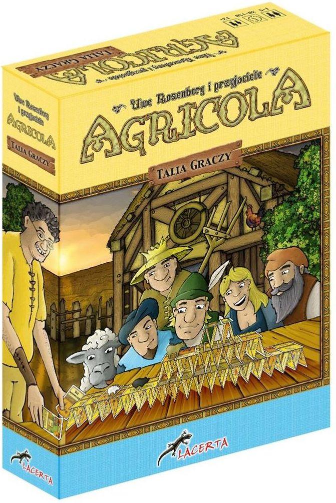 Lacerta Gra planszowa Agricola: Talia graczy (189235)