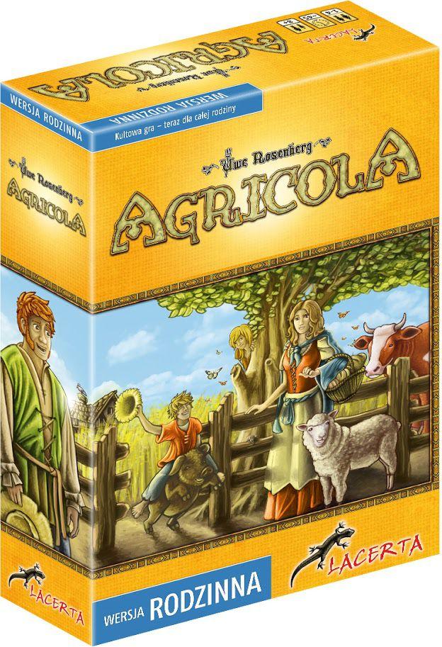 Lacerta Gra planszowa Agricola Wersja rodzinna